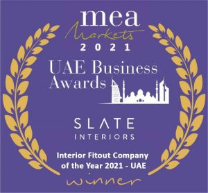 Interior Fitout Company of the Year 2021 - UAE